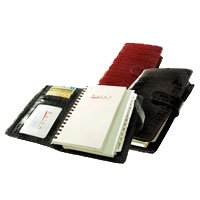 Spiral Bound Leather Planner Calendars