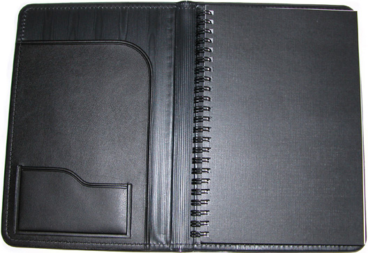 Faux Leather Refillable Journal